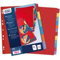 Elba Modling - intercalaires carton reutilisable - jeu de 12