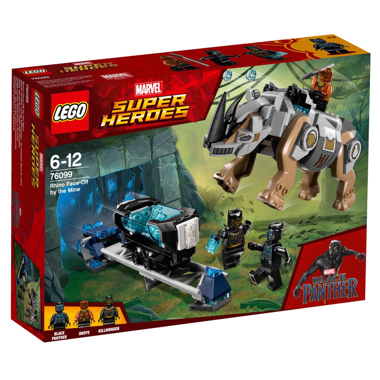 76099 Marvel Super Heroes™ : Black Panther contre Killmonger : le combat dans la mine