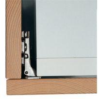 Salice - Charniere 200 Pour Refrigerateur Ouverture 94 Degres - Pour Porte En Applique Recouvrement Total - Réf.:C2A7F99 - Type de boitier:A visser - Cond.:1