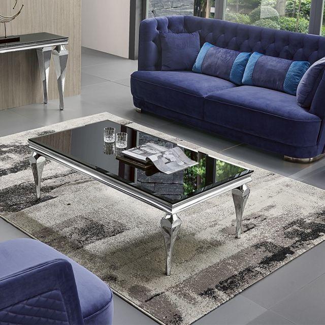 Meubler Design Table Basse Design Au Style Baroque Liva Pas Cher