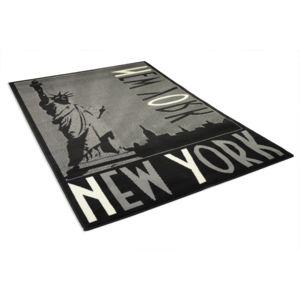 Debonsol tapis salon new york black noir 120x170cm pas for Tapis salon new york