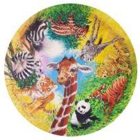 James Hamilton - Puzzle 500 pièces rond - Les animaux exotiques rayés