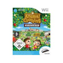 NINTENDO - ANIMAL CROSSING : LET'S GO TO THE CITY + MICRO WII