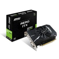 MSI - Carte Graphique GeForce GTX 1050 AERO ITX 2G OC DDR5