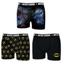 Dc Comics - Lot de 3 boxers Homme Justice League