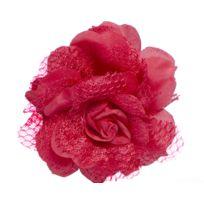 Aptafetes - Fleur Rouge - Accessoire Cheveux