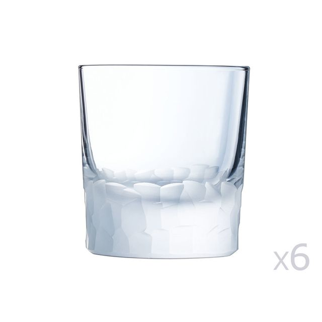 Cristal D'ARQUES Gobelet en cristallin 32cl - Lot de 6 Intuition
