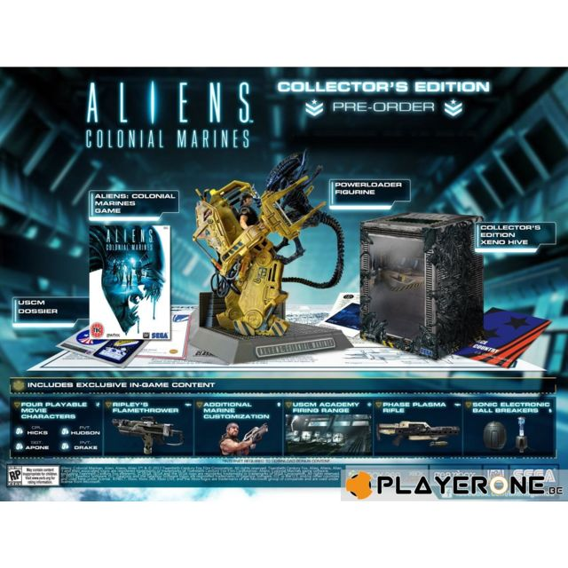 Console Xbox 360 Carrefour: Aliens Colonial Marines Collector