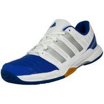 Adidas performance - Court Stabil 11 Chaussures de Handball Homme Blanc Bleu