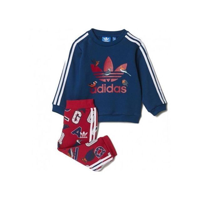 Adidas originals Survêtement Rose Bébé Fille Adidas