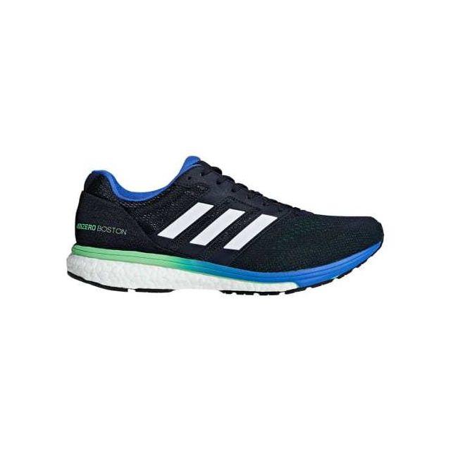 Boston Blanc Chaussures 7 Foncé Vert Pas Adizero Bleu Adidas nNk8X0OwP