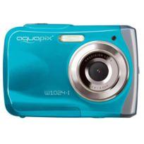 Easypix - Appareil photo étanche Aquapix Bleu Splash étanche 3m W1024_BLUE