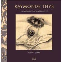 Archives D'ARCHITECTURE Moderne - Raymonde Thys ; graveur et aquarelliste ; 1909-2003