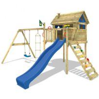 Wickey - Maisonnette en bois Smart Plaza