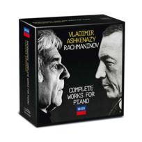 Decca - Vladimir Ashkenazy | Serge Rachmaninov - Intégrale des oeuvres pour piano Coffret