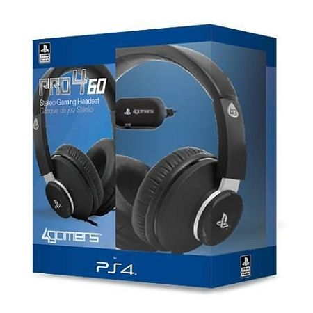 4gamers Casque Stereo Pro 460 Ps4 Pas Cher Achat Vente Micro