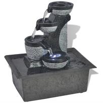 Vidaxl - Fontaine d'intérieur avec lumière Led Poly-résine