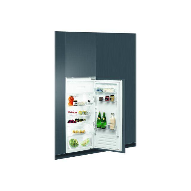 Whirlpool réfrigérateur 1 porte intégrable à glissière 190l a+ - arg860a