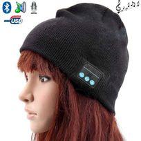 Yonis - Bonnet Bluetooth ecouteurs bonnet audio microphone iPhone smartphone