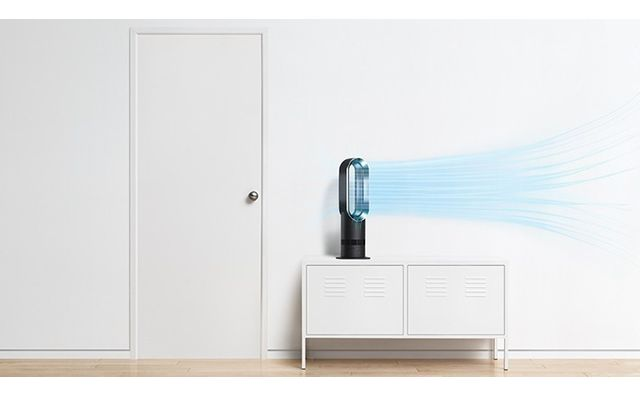 dyson ventilateur chaud froid am09 pas cher achat. Black Bedroom Furniture Sets. Home Design Ideas