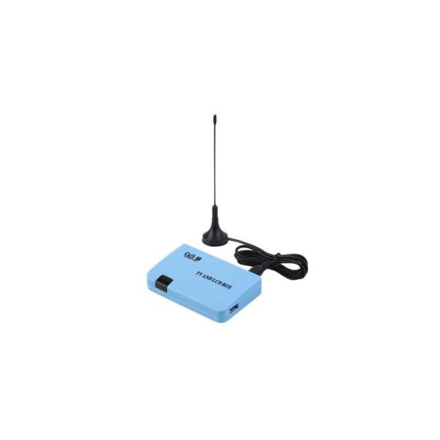 Auto-hightech Récepteur Tnt Dvb-t numérique avec sortie Av / Vga