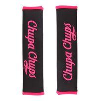 Chupachups - Chp1200PK - 2 protege-ceintures Chupa Chups en tissu rose