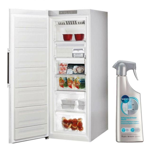 Whirlpool cong lateur armoire vertical blanc a froid - Congelateur armoire carrefour ...