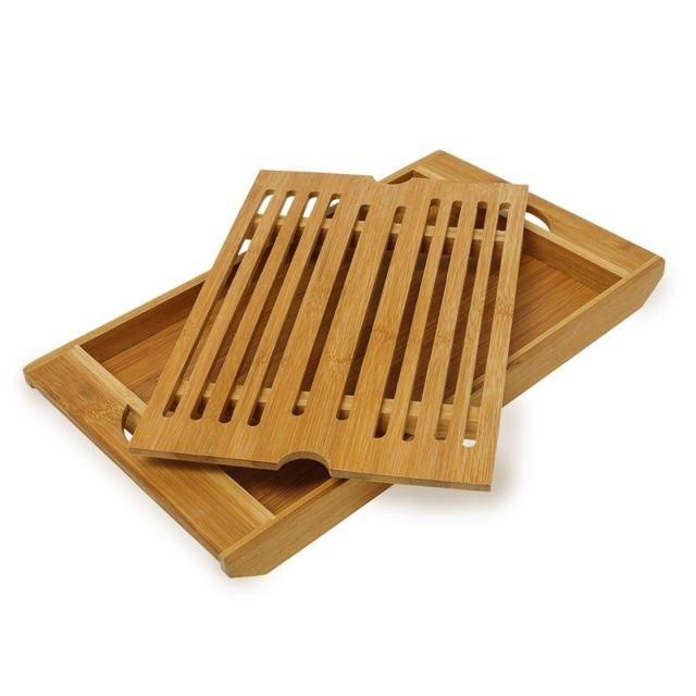 Autre Planche à pain avec compartiment ramasse miette en bambou 4313004
