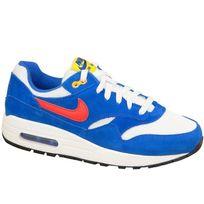 Nike - Air Max 1 Gs 555766-108 Enfant mixte Baskets Bleu