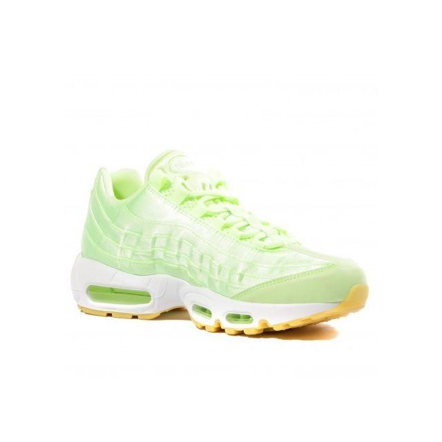 Nike Air Max 95 Femme Chaussures Vert pas cher Achat