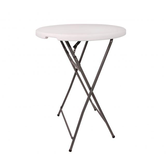 X 110 Debout 80 H Mange Blanc Pliable Cm Table D ZiuTPOkX
