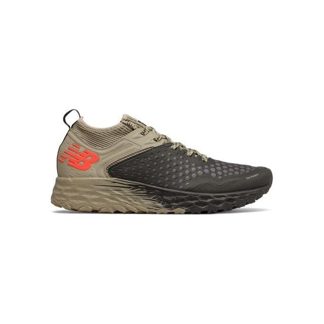 e236b424ec3 New Balance - Chaussures Fresh Foam Hierro Trail v4 noir marron - pas cher  Achat   Vente Chaussures trail - RueDuCommerce