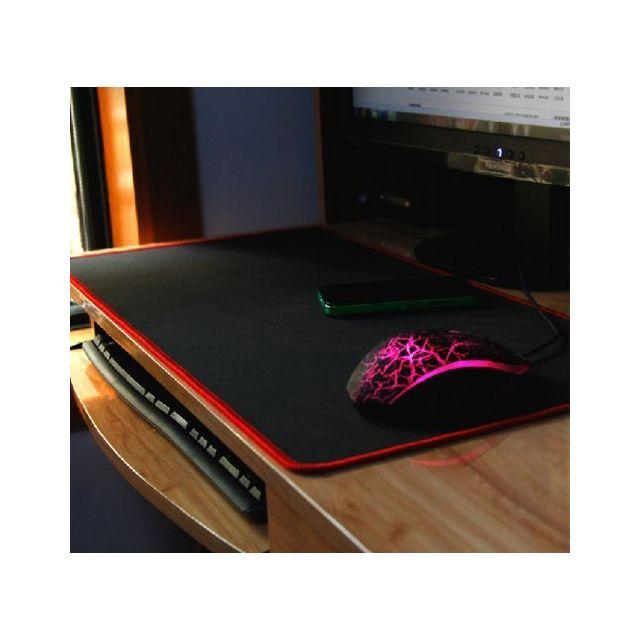 Tapis de Souris Gaming XXL, Grand Souris Tapis Mousepad Tapis Clavier Tapis de Bureau Compatible Souris Laser Optique PC Gamers antidérapant Surface