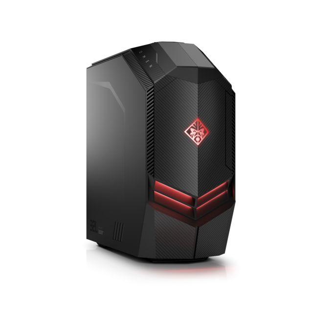 achat hp omen 880 149nf noir rouge ordinateur de bureau intel core i5. Black Bedroom Furniture Sets. Home Design Ideas