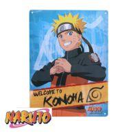 Abysscorp - Naruto Shippuden Plaque métal Naruto 38 cm