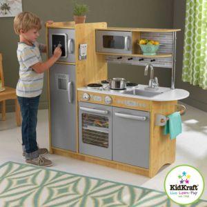 kidkraft cuisine uptown naturelle pas cher achat vente cuisine et m nage rueducommerce. Black Bedroom Furniture Sets. Home Design Ideas