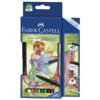 "Faber-Castell - Anime Art Set ""FANTASY"" Contenu: 8 Stylos"