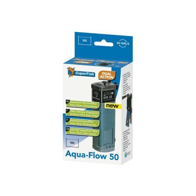 Aqua Occaz Filtre interne 100 l/h pour aquarium Superfish Aqua Flow 50