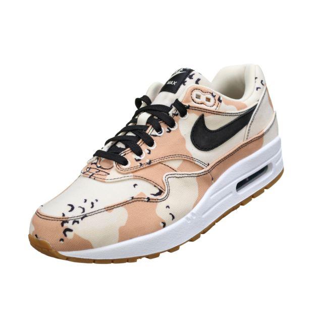 Nike Air Max 1 Premium 875844 204 Beige pas cher Achat