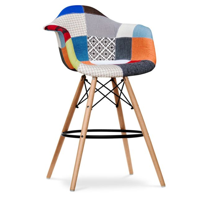 Privatefloor Tabouret Daw Charles Eames - Style - Patchwork