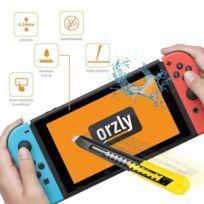 Orzly - Protection écran pour Nintendo Switch en Verre Trempé