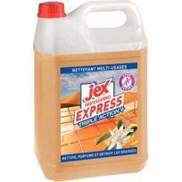 Jex nature - nettoyant dégraissant destructeur d'odeur jex - bidon de 5l