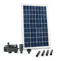 Rocambolesk - Superbe Kit SolarMax 600 avec pompe et panneau solaire Ubbink 1351181 Neuf