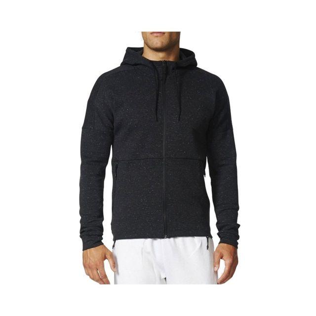 e82a463090 ... Adidas - Sweat à Capuche STADIUM Gris foncé Homme Adidas Gris XXL ...