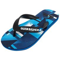 Tongs claquettes Molokai check blk/blue jr 9ubzr6