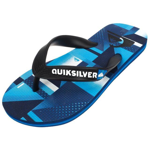 d94b406fe5a Quiksilver - Tongs claquettes Molokai check blu tong jr Bleu 52714 - pas  cher Achat   Vente Sandales et tongs enfant - RueDuCommerce