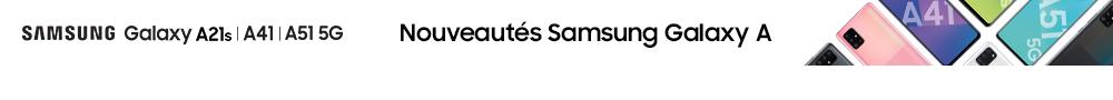 Nouveautés Samsung Galaxy A