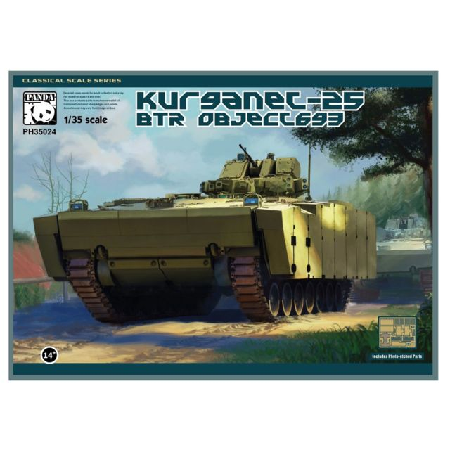 Special Hobby Maquette char : Kurganets 25 Btr