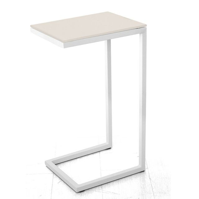 Tuoni Table basse en verre trempé Pure Design Logico - Beige