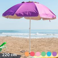 parasol de plage achat parasol de plage pas cher rue du commerce. Black Bedroom Furniture Sets. Home Design Ideas